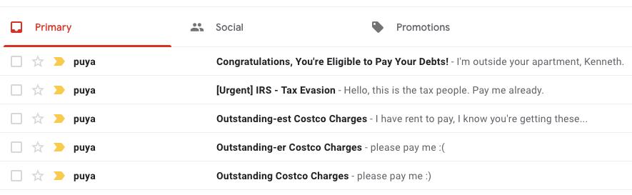 it's not spam if it's justified