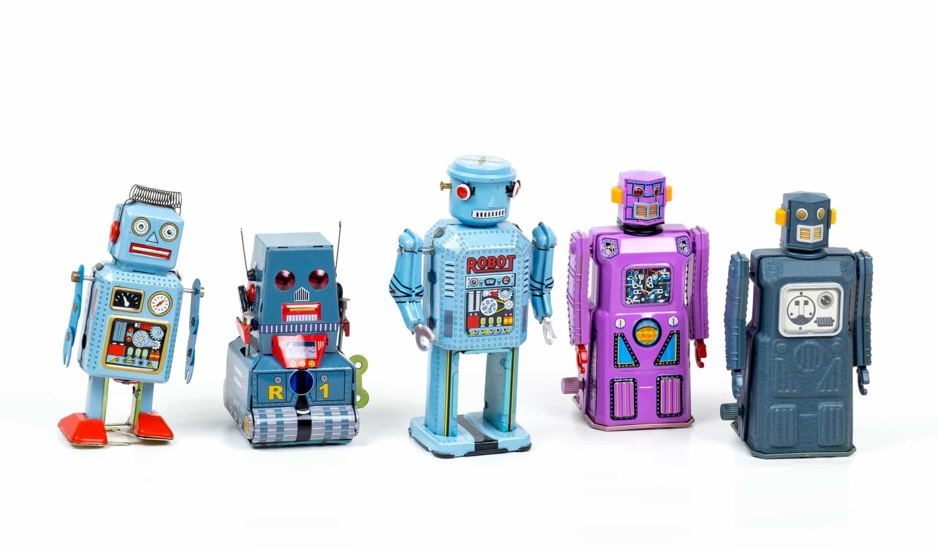 Toy robots, photo by Eric Krull on Unsplash