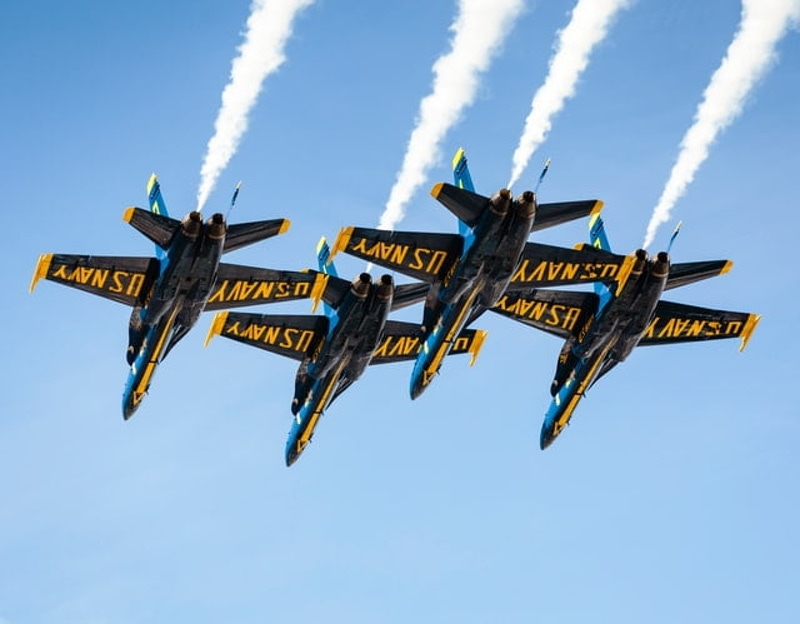 Blue Angels, Photo by Todd Diemer on Unsplash