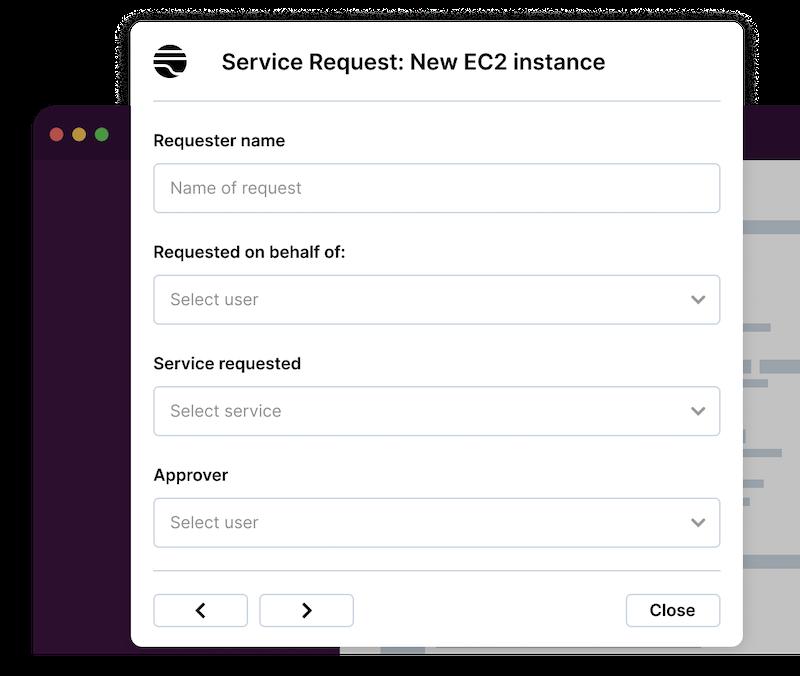 Modernize service request management with Transposit